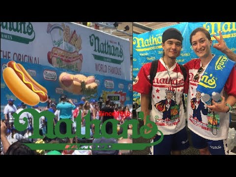 Nathan's Famous Hot Dog Eating Contest 2017