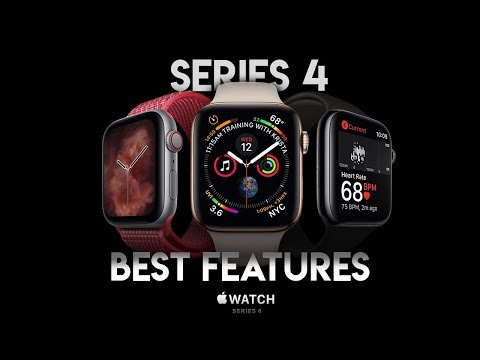 Best Features of Apple Watch Series 4