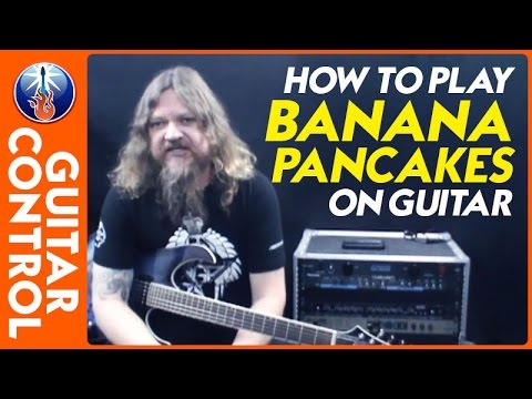 How to Play Banana Pancakes on Guitar - Jack Johnson Song Lesson