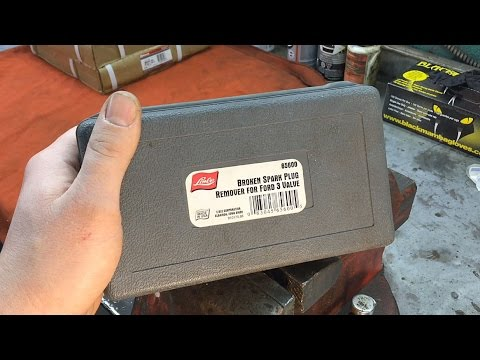 Ford 3v Engines Broken Spark Plug Removal: What To Do When The Lisle Tool FAILS