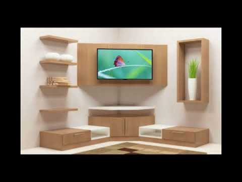 MODERN TV SHOWCASE DESIGN // TV CABINET DESIGN