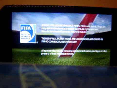 FIFA 12 PSP gameplay