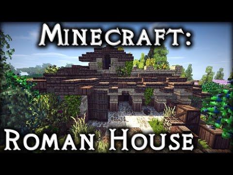 Minecraft: Roman House Tutorial