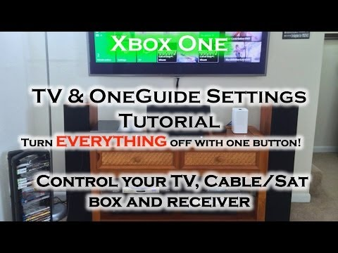 Xbox One - TV Integration, Home Theater & Cable/Sat Box!! (Power OFF/ON)