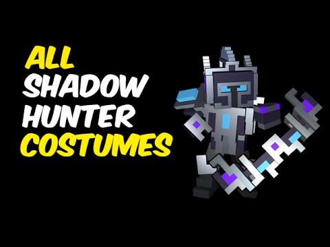 All Shadow Hunter Costumes in Trove