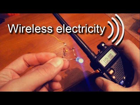 Wireless power Transfer using a Walkie-Talkie / Wireless Power Transmission