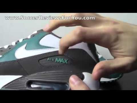 Nike Air Max 90 Midnight Fog White Lush Teal   Review   On Feet
