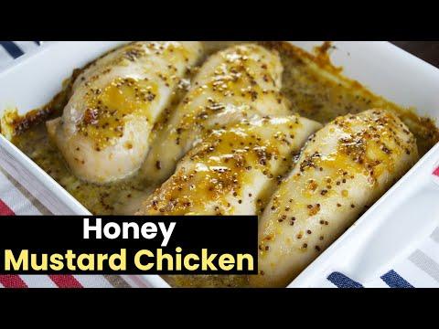 Easy Baked Honey Mustard Chicken
