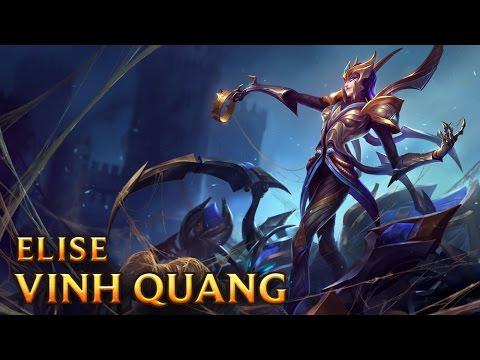 Elise Vinh Quang - Victorious Elise - Skins lol