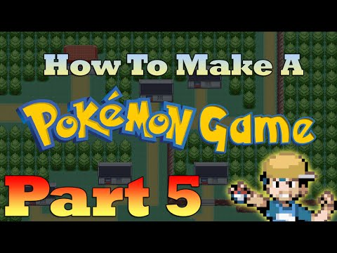 How To Make a Pokemon Game in RPG Maker - Part 5: Trainers