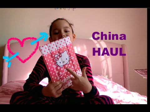 China HAUL(candy, Frozen movie,iPad cases, kinder surprise eggs, selfie stick???)