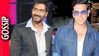 Akshay Kumar Makes Fun Of Ajay Devgn - Bollywood Gossip 2017