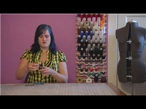 Sewing Tips : How to Sew a Shirt Button