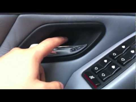 How To Fix Comfort Access On The Door Handle Of Bmw E65 Bmw X5