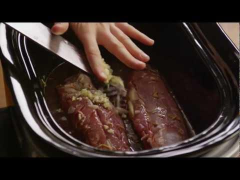 How to Make Pork Tenderloin in a Slow-Cooker