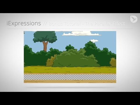After Effects Character Animation Tutorial Series - Part 8 - Parallax Effect for 2D Backgrounds
