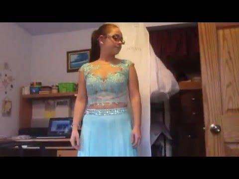 Prom Dress Hem Up - Tutorial Video