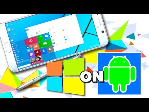 Install and RUN WINDOWS 10/8/7/XP/95 on ANDROID - NO ROOT 2017 (Step-by-Step Guide)