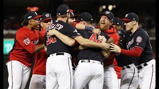 Washington Nationals Celebrate First World Series Berth After Sweeping St. Louis Cardinals