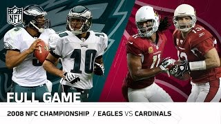 "2008 NFC Championship Game: Eagles vs Cardinals | ""Larry Fitzgerald"