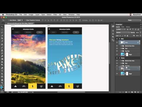What's New in Photoshop for Web, UI/UX, and App Design