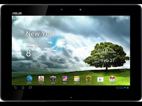 Asus Transformer Pad Infinity 700 LTE Hard Reset and Forgot Password Recovery, Factory Reset