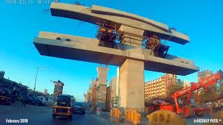 Mumbai Metro 2A and 7 Don Bosco-Dahisar-Magathane Update Feb 2018