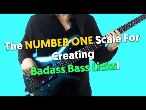The NUMBER ONE Scale For Creating Some Badass Bass Licks!