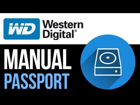 WD my Passport external hard drive Set Up Guide for Mac 2019