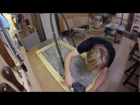 rough finish pine doors