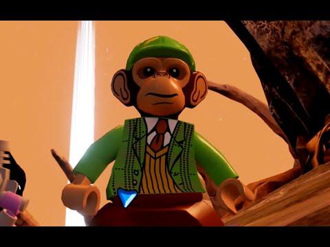 LEGO Batman 3: Beyond Gotham - Detective Chimp Gameplay and Unlock Location