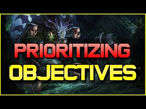 ✔ How to Prioritize Objectives in League of Legends