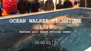 Adam Walker Swimming Flat V Hip Rotation