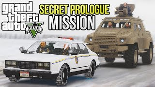 GTA 5 - SECRET PROLOGUE MISSION STEPS! (GTA V)