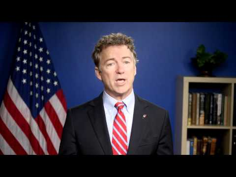 Senator Paul: State Of The Union Remarks