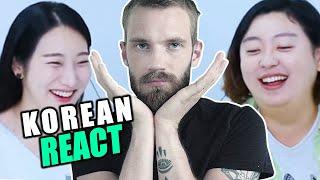 Koreans React To Pewdiepie