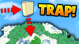 INSANE FLOATING TRAP!! | Will it work?... (Minecraft Ice Factions #49)
