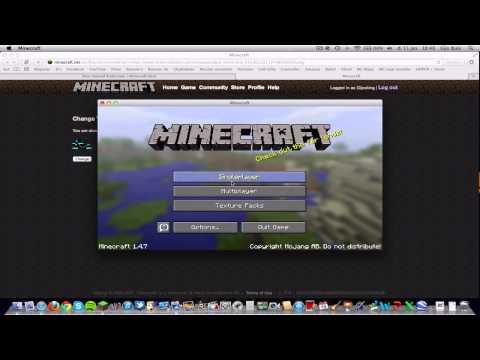 Dutch Minecraft Tutorials for Mac #1: Hoe download je een skin op een Mac?