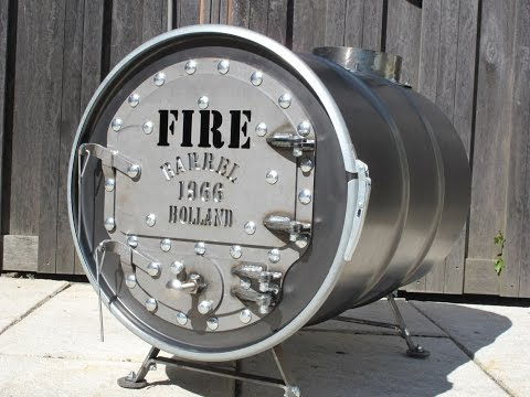 Barrel Stove Kit - Firebarrel.nl