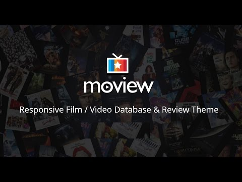 How to install the Moview WordPress theme and import demo contents