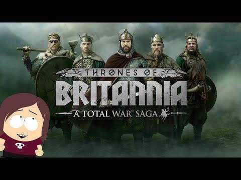 Total War Saga Thrones of Britannia    Viking Port Assault Battle