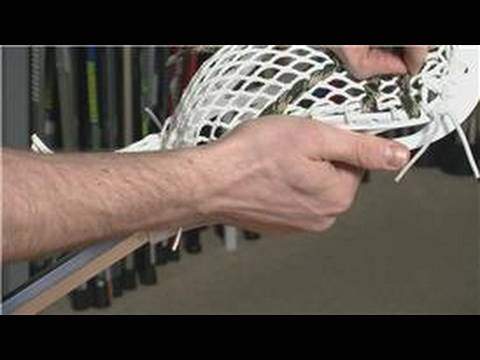Lacrosse Equipment : How to String a Lacrosse Stick for Maximum Shot Speed