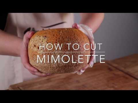 How to cut Mimolette cheese with Cara Warren