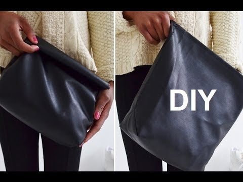 DIY ACCESSORY | HOW TO MAKE A LUNCH BAG JIL SANDER INSPIRED