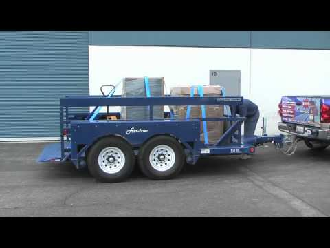 Loading Safes with an Air-tow Trailer