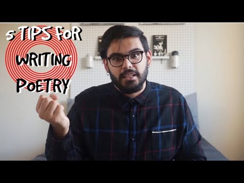 5 Tips For Writing Poetry