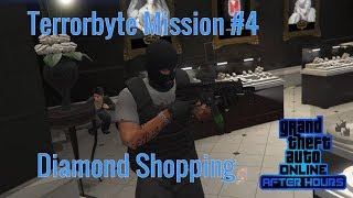GTA 5 After Hours | Terrorbyte Mission 4 Diamond Shopping