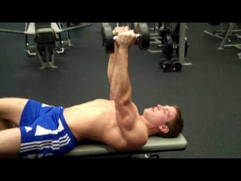 How To: Dumbbell Flys On A Flat Bench