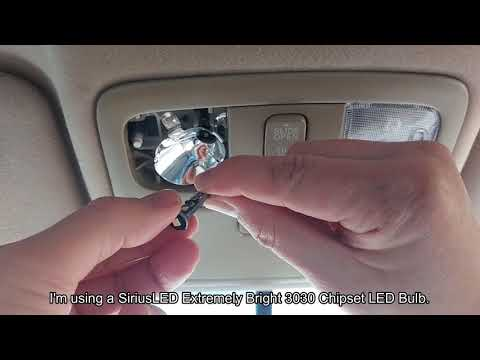 Map Light Bulb Replacement - 2005 Toyota Camry
