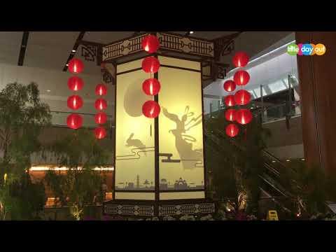 走马灯 / Revolving Lantern Displays at Singapore's Changi Airport T2 and T3 2017
